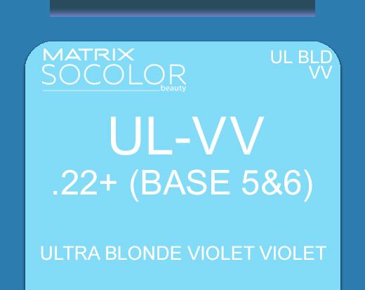 Socolor Beauty Ultra Blonde ULVV Ultra Blonde Violet Violet