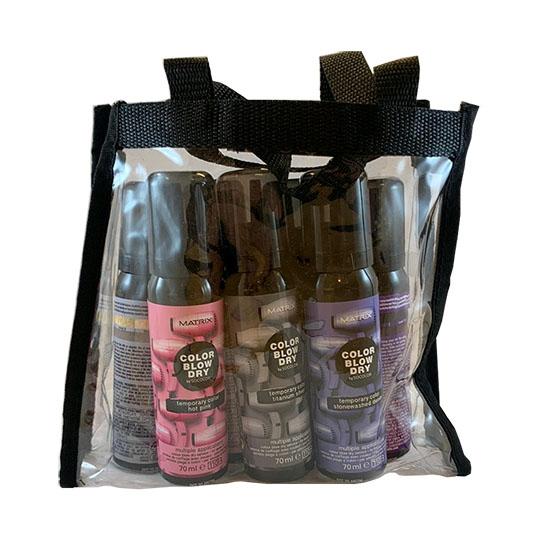 Socolor Blowdry Pack - 7 shades + POS