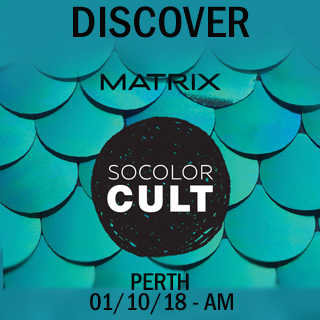 Discover Socolor Cult in Perth on 1st October 10am-1pm