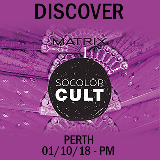 Discover Socolor Cult in Perth on 1st October 2pm - 5pm