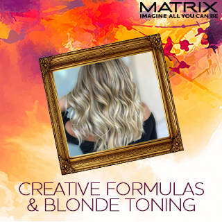 Matrix Creative Formulas and Blonde Toning - 3rd June - Aberdeen - 10am-5pm