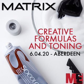 Matrix Creative Formulas And Toning - 6th April - Aberdeen