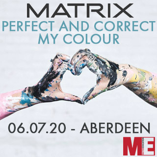 Matrix Perfect And Correct My Colour Application - 6th July - Aberdeen