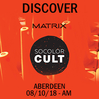 Discover Socolor Cult in Aberdeen on 8th October 10am - 1pm