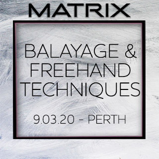 Matrix Balayage & Freehand Techniques - 9th March - Perth