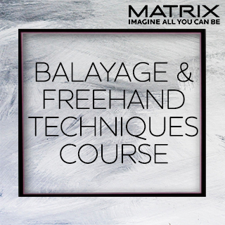 Matrix Balayage and Freehand Techniques - 24th June - Coco's Salon in Dornoch - 10am-5pm