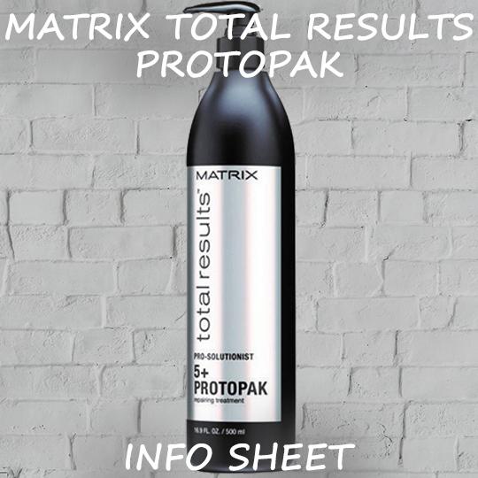 Matrix Total Results Protopak Info