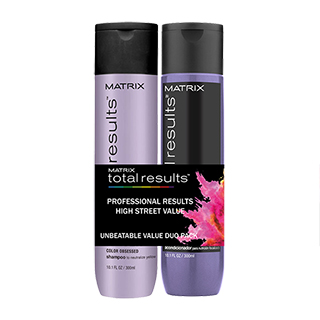 Total Results So Silver Duo Pack - shampoo and conditioner 300ml
