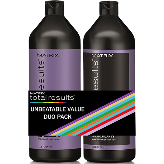 Total Results Color Obsessed Litre Duo Pack