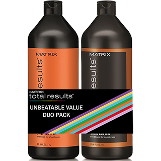 Total Results Mega Sleek Litre Duo Pack