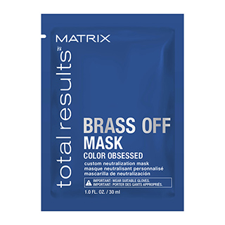 Matrix Total Results Brass Off Mask 30ml Sachet