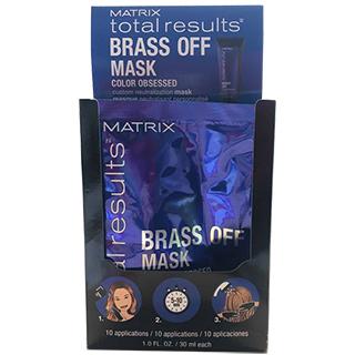 Matrix Total Reults Brass Off Mask 10 x 30ml sachet