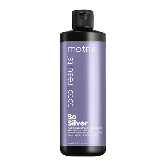 New Total Results So Silver Purple Neutralising Mask 500ml