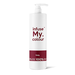 Infuse My Colour Ruby Red Shampoo 1 Litre
