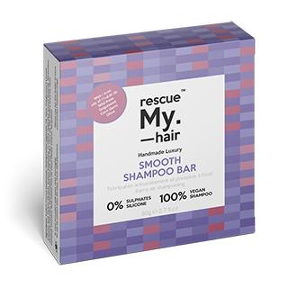 New Rescue My Hair Smooth Shampoo Bar 80g