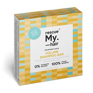 New Rescue My Hair Volume Shampoo Bar 80g