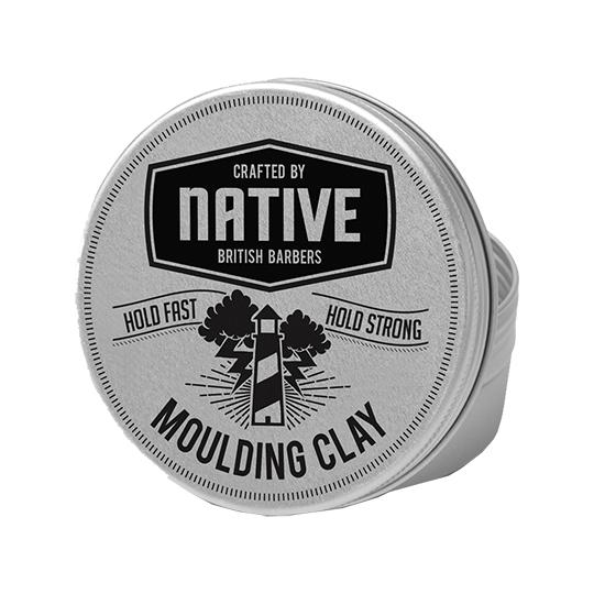Native British Barbers - Matt Moulding Clay 100ml