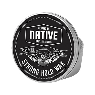 Native British Barbers - Strong Hold Wax 100ml