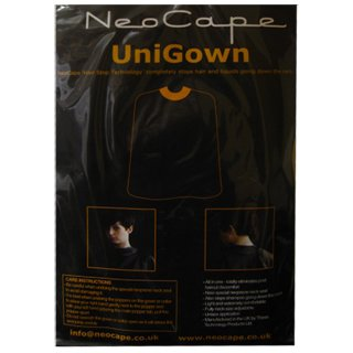 Neocape White Pinstripe Barber Cape