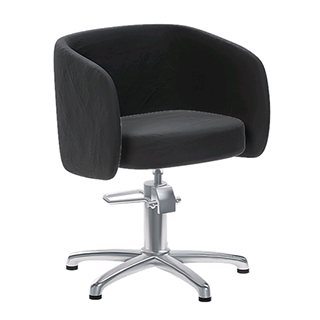 REM Capri Salon Chair - Black