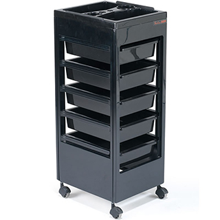 Rem Studio Trolley - Black Flat Top