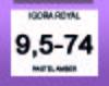 Igora Royal Pearlescence 9,5-74 Pastel Amber 60ml