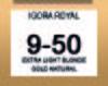 IGORA ABSOLUTES 9-50 EXTRA LIGHT BLONDE GOLD NATURAL