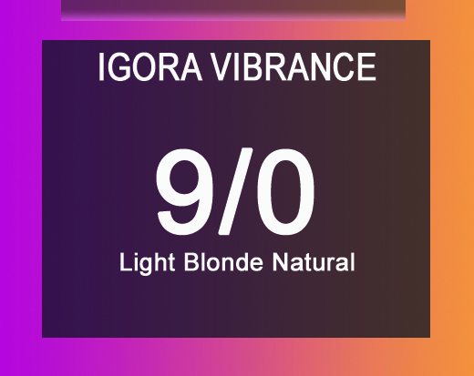 Igora Vibrance 9/0 Light Blonde Natural 60ml