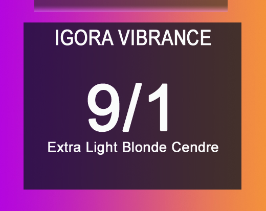 Igora Vibrance 9/1 Extra Light Blonde Cendre 60ml