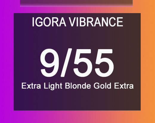 Igora Vibrance 9/55 Extra Light Blonde Gold Extra 60ml