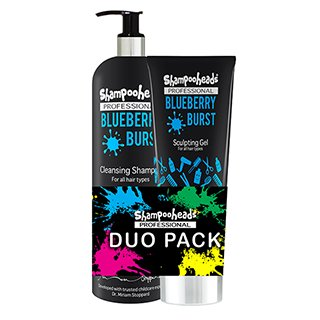 Shampooheads Blueberry Burst Duo Pack