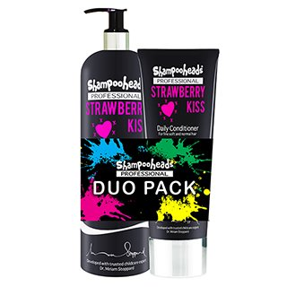 SHAMPOOHEADS STRAWBERRY KISS DUO PACK