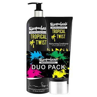 SHAMPOOHEADS TROPICAL TWIST DUO PACK
