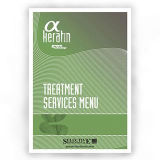 Selective Professional - Alpha Keratin Service Menu
