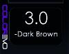 COLOREVO 3/0 DARK BROWN 100ML