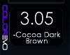 COLOREVO 3/05 COCOA DARK BROWN 100ML