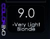 COLOREVO 9/0 VERY LIGHT BLOND 100ML