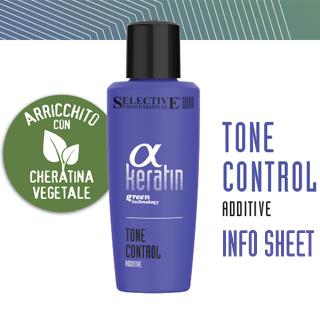 Selective Alpha Keratin Tone Control Info