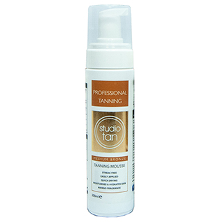 Studio Tan - Medium Bronze Self Tanning Mousse 200ml