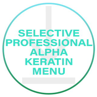 SELECTIVE PROFESSIONAL ALPHA KERATIN TREATMENT MENU