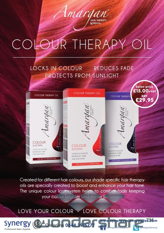 Amargan Colour Therapy Oils