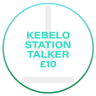 KEBELO STATION TALKER £10