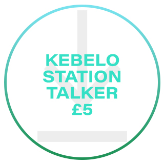 KEBELO STATION TALKER £5