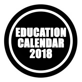 Education Calendar 2018