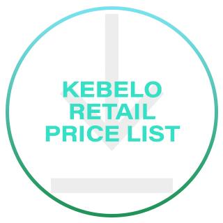 Kebelo Retail Price List 2016