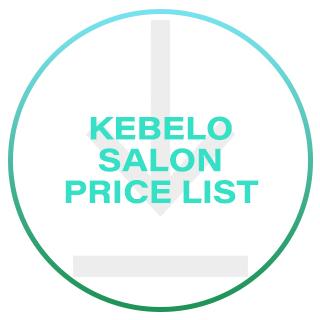 Kebelo Salon Price List 2016
