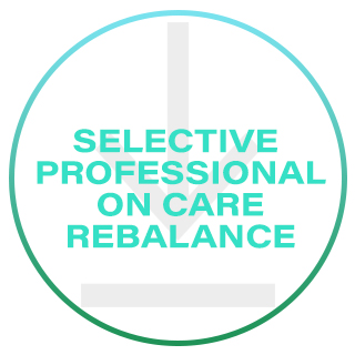 SELECTIVE PROFESSIONAL ON CARE REBALANCE