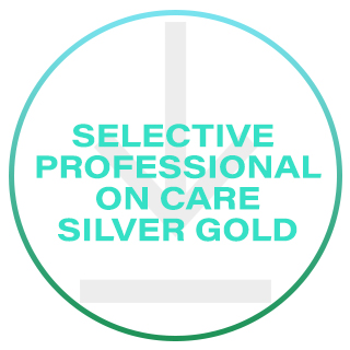 SELECTIVE PROFESSIONAL ON CARE SILVER GOLD
