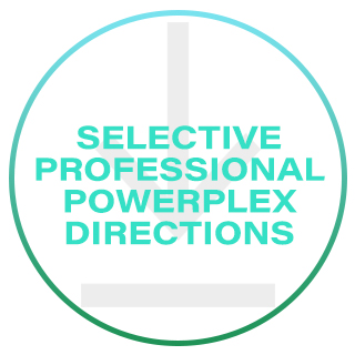 SELECTIVE PROFESSIONAL POWERPLEX DIRECTIONS