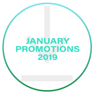 1. January Promotions 2019